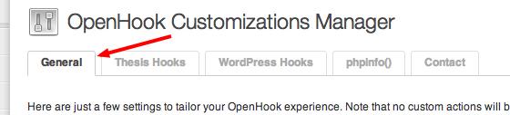 thesis openhook update